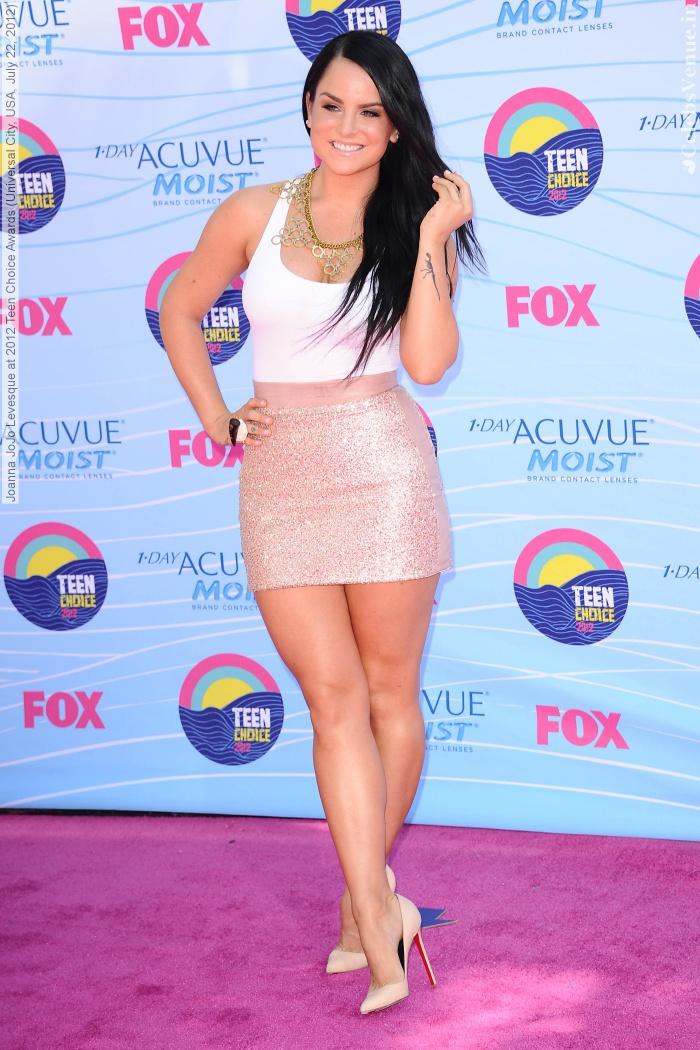 Joanna JoJo Levesque at 2012 Teen Choice Awards (Universal City, USA, July 22, 2012)