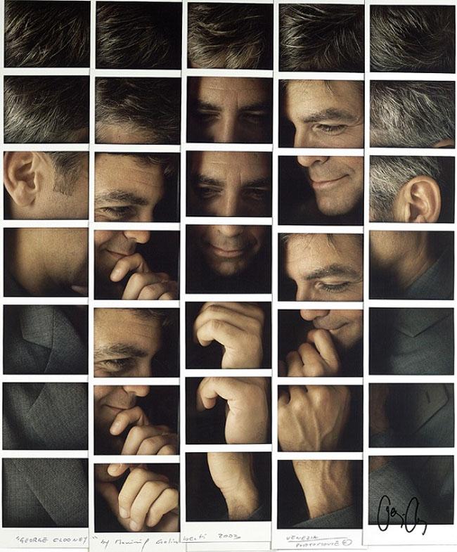 Polaroid-Portraits_Clooney
